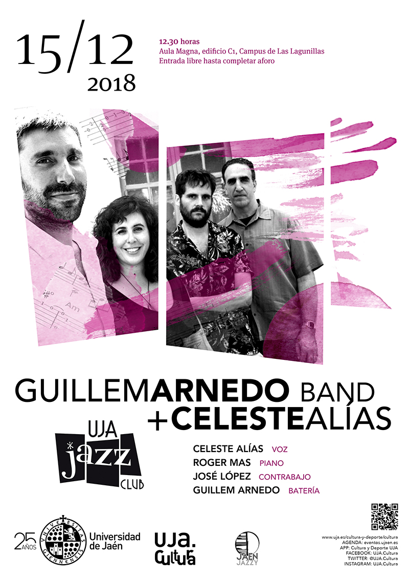 CLUB DE JAZZ UJA _  GUILLEM ARNEDO BAND +CELESTE ALÍAS